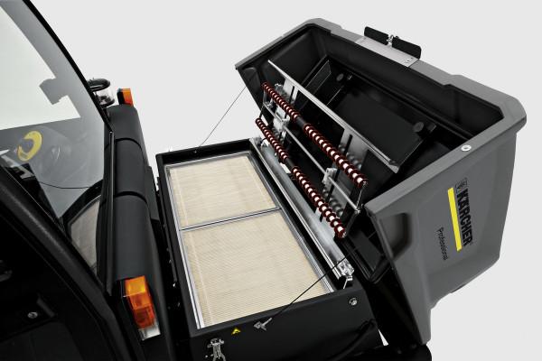Kehrsaugmaschine KM 150/500 R LPG